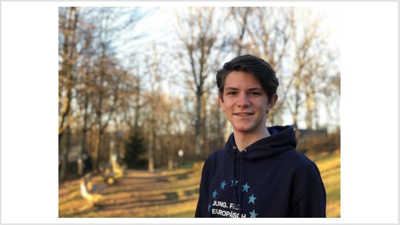 Das Foto zeigt den Unterstützer Alexander Stohl.