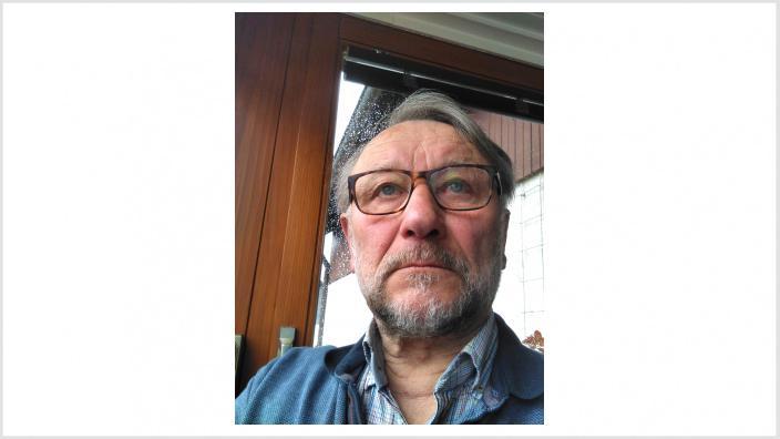 Das Foto zeigt den Unterstützer Hans-Peter Vierschilling.