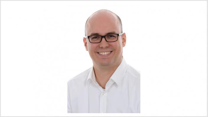 Dieses Foto zeigt den Wahlkampfleiter Christian Ruf.